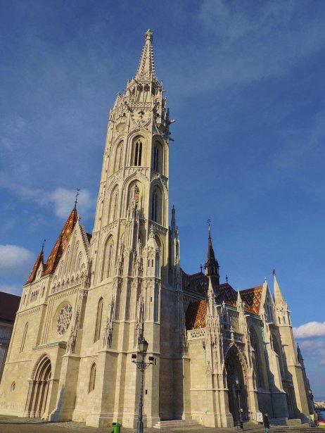 Maintes fois reconstruite, l'église Matthias sert de lieu de cérémonie lors du couronnement de certains souverains hongrois. (Photo Sarah-Émilie Nault, collaboration spéciale)