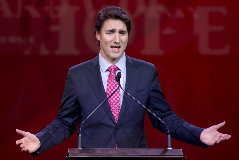 Justin Trudeau... (Photo: archives La Presse Canadienne)