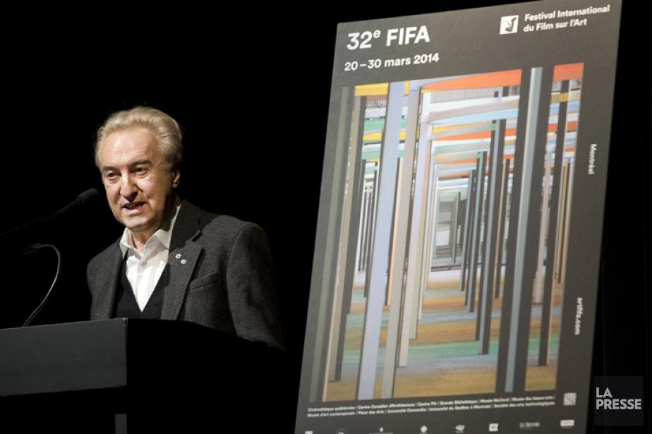 Le directeur et fondateur du FIFA, René Rozon.... (Photo: Robert Skinner, La Presse)