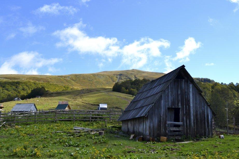 Vie rurale près de Kolasin. (Photo Violaine Ballivy, La Presse)