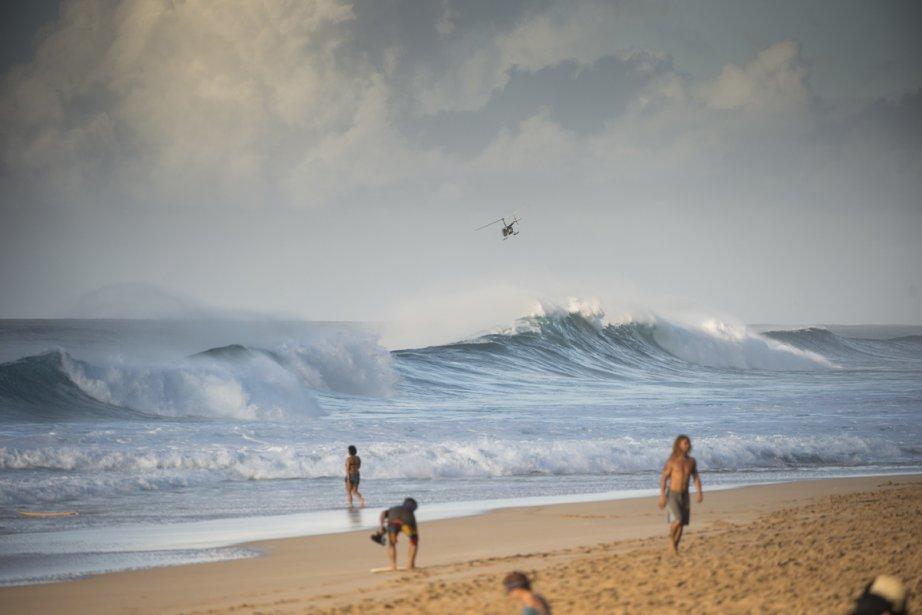 Les vagues d 39 hawaii - Image de plage paradisiaque ...