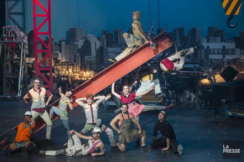 From the Ground Up!est présenté à la TOHU... (PHOTO OLIVIER PONTBRIAND, LA PRESSE)