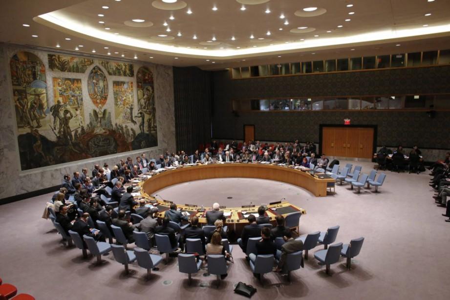 Le Conseil de sécurité de l'ONU a tenu... (PHOTO EDUARDO MUNOZ, archives REUTERS)