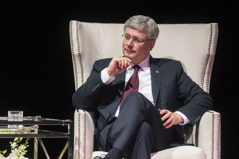 Le premier ministre canadien Stephen Harper... (Photo Chris Young, archives La Presse Canadienne)