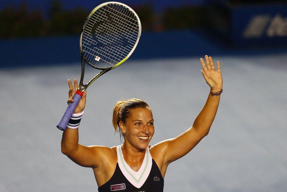 Dominika Cibulkova... (Photo  Pedro PARDO, AFP)