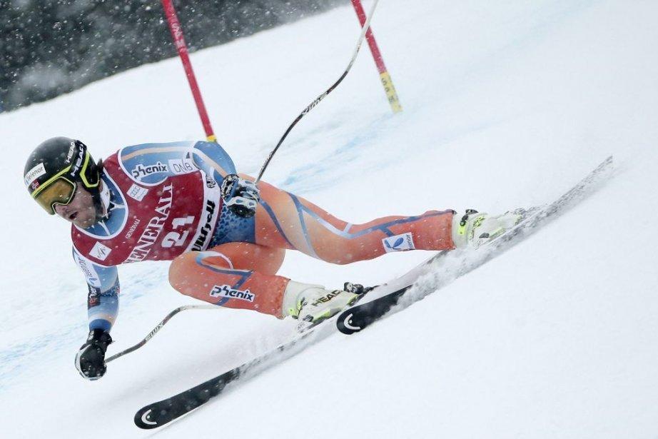 Kjetil Jansrud... (PHOTO DANIEL SANNUM LAUTEN, AFP)