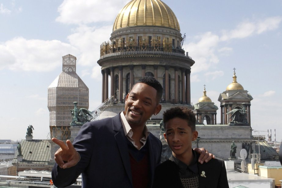 Will Smith et son fils Jaden.... (PHOTO ARCHIVES REUTERS)