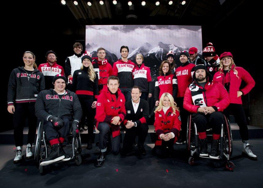 Les athlètes paralympiques du Canada... (Photo Nathan Denette, PC)