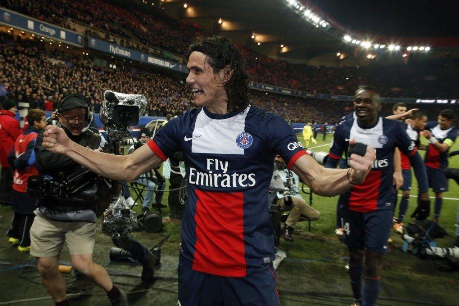 Le Paris Saint-Germain, vainqueur dimanche du clasico contre... (Photo: AFP)