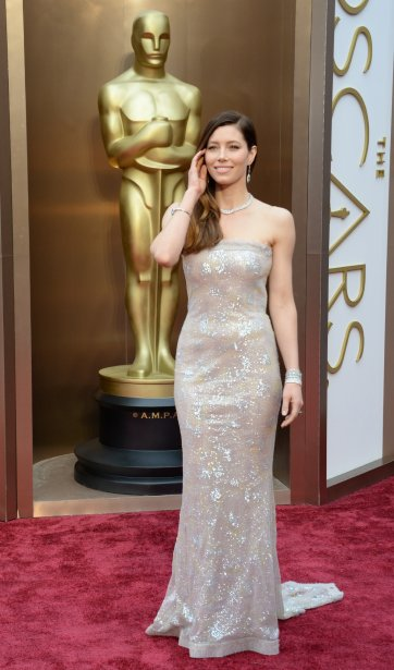 Jessica Biel (Photo ROBYN BECK, AFP)