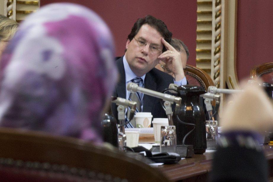 Le ministre Bernard Drainville... (Photo Jacques Boissinot, La Presse Canadienne)