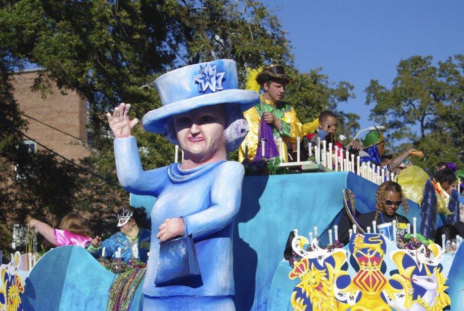 Les festivités du Mardi gras donnent lieu à de nombreux défilés. (PHOTO MARIE TISON, LA PRESSE)