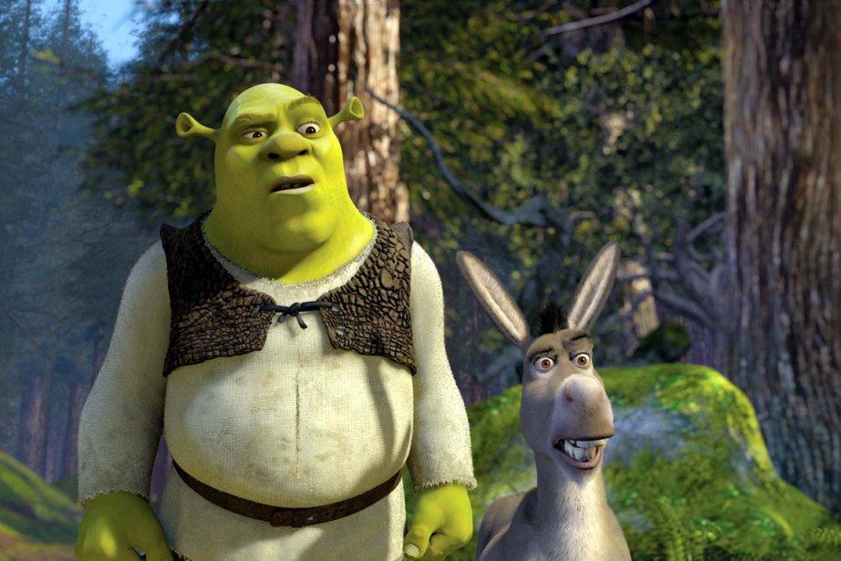 Le célèbre géant vert Shrek entre dans... (PHOTO FOURNIE PAR DREAMWORKS PICTURES)