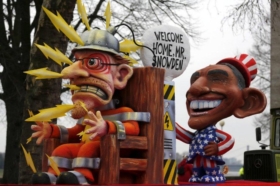 Le président américain Barack Obama souhaite un bon retour au pays à Edward Snowden. (PHOTO INA FASSBENDER, REUTERS)