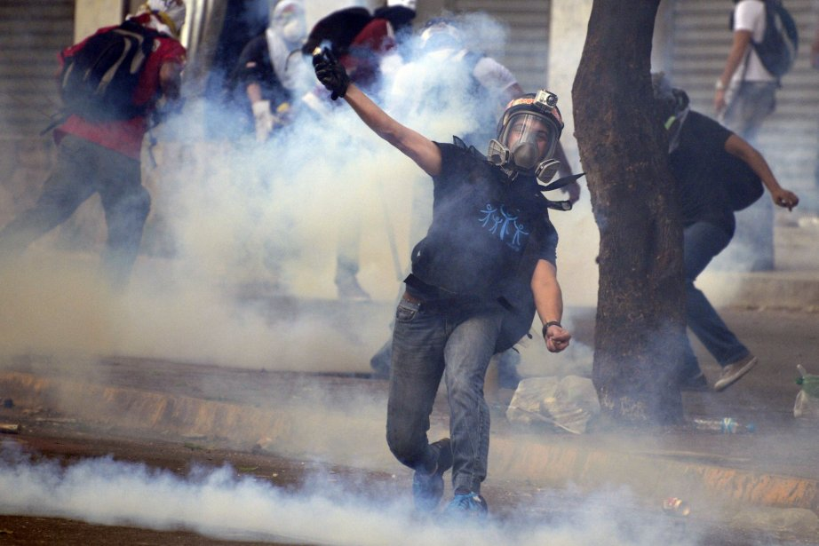 Le Venezuela est depuis le 4 février en... (Photo JUAN BARRETO, AFP)