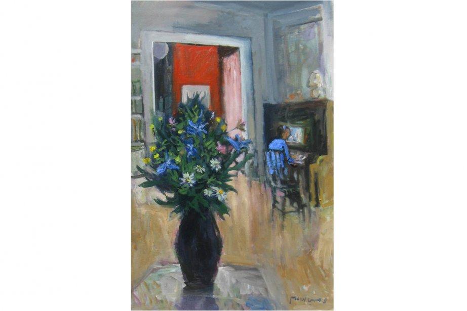 Interior with Piano (1997) de Molly Lamb Bobak... (Photo: Gallery 78)