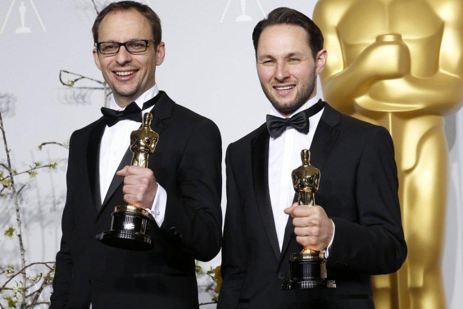 Le Français Laurent Witz et le Luxembourgeois Alexandre... (Photo: Reuters)