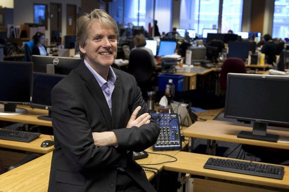 Scott White, rédacteur en chef de la PC... (Photo Graeme Roy, PC)