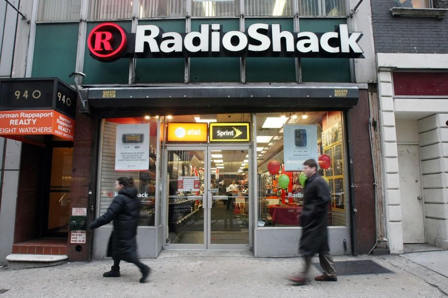 Pour la deuxième fois en deux ans, RadioShack se... (Photo archives Getty Images)