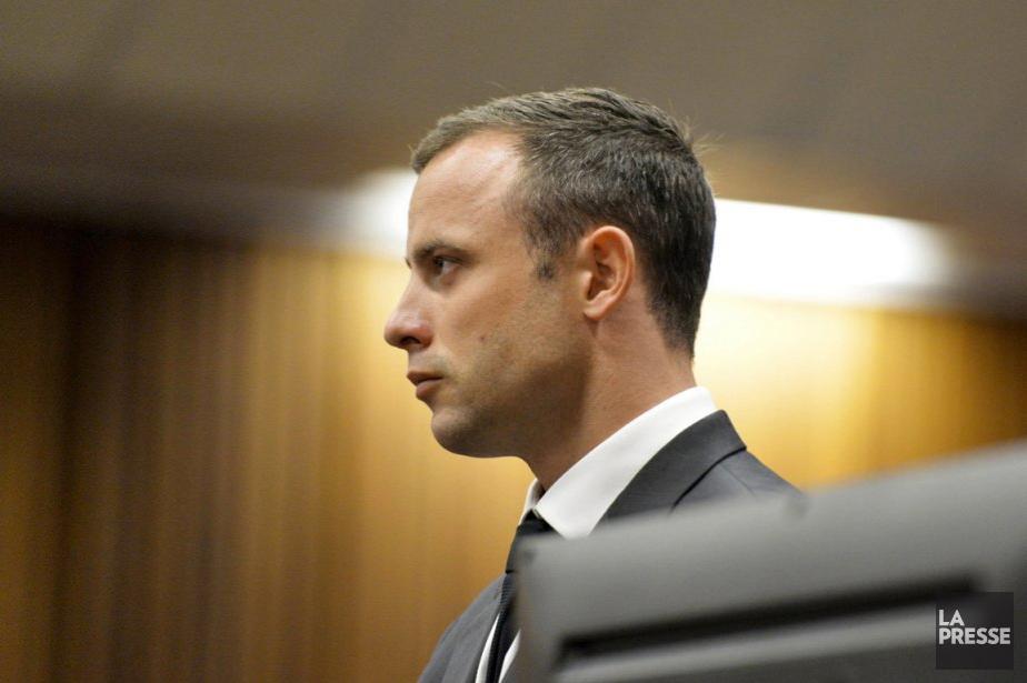 Oscar Pistorius à l'ouverture de l'audience lundi.... (Photo: Reuters)