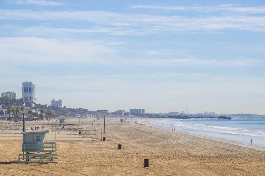 La plage de Santa Monica, près de Los... (Photo Digital/Thinkstock)