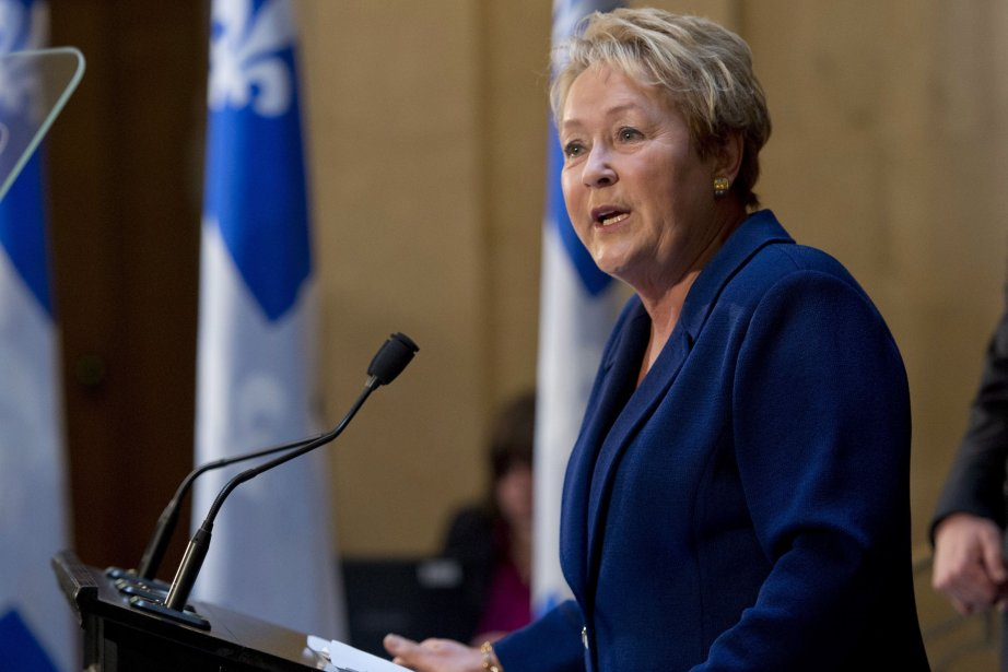 Pauline Marois... (Photo Jacques Boissinot, La Presse Canadienne)