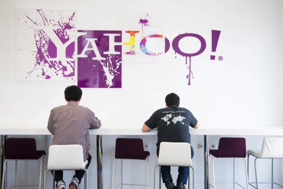 La patronne de Yahoo! Marissa Mayer, arrivée aux... (Photo David Ramos, Bloomberg)