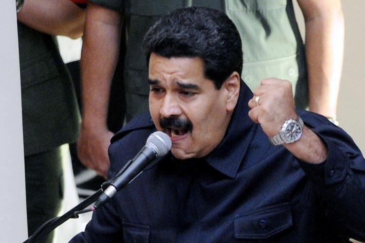 Le président vénézuélien Nicolas Maduro à livré mercredi... (Photo: AFP)