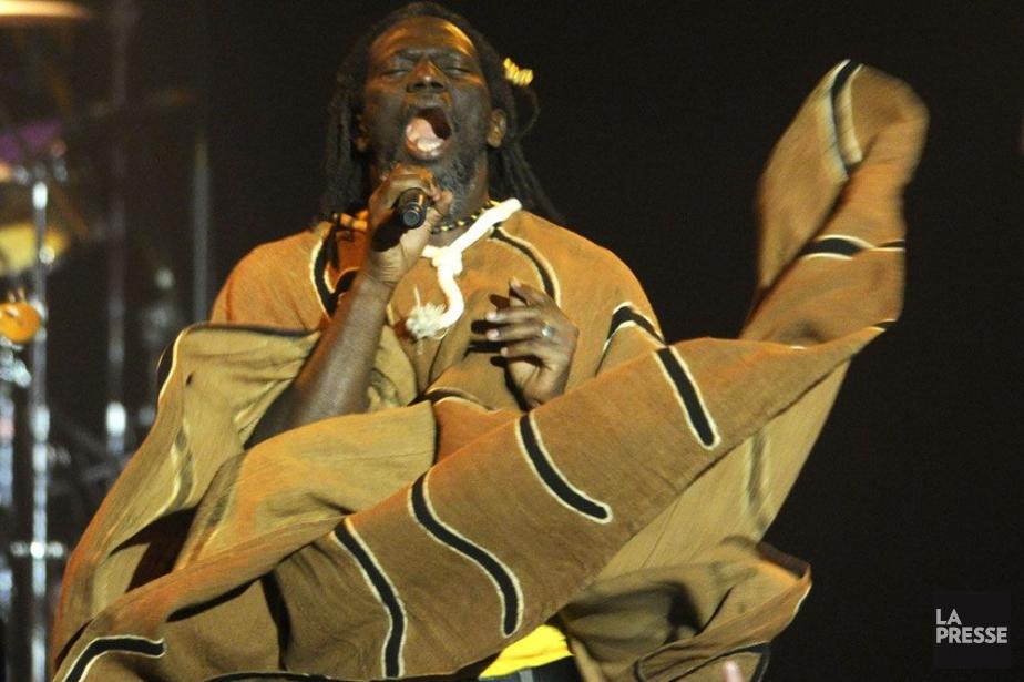 L'histoire d'amour entre Tiken Jah... (Photo: Bernard Brault, archives La Presse)