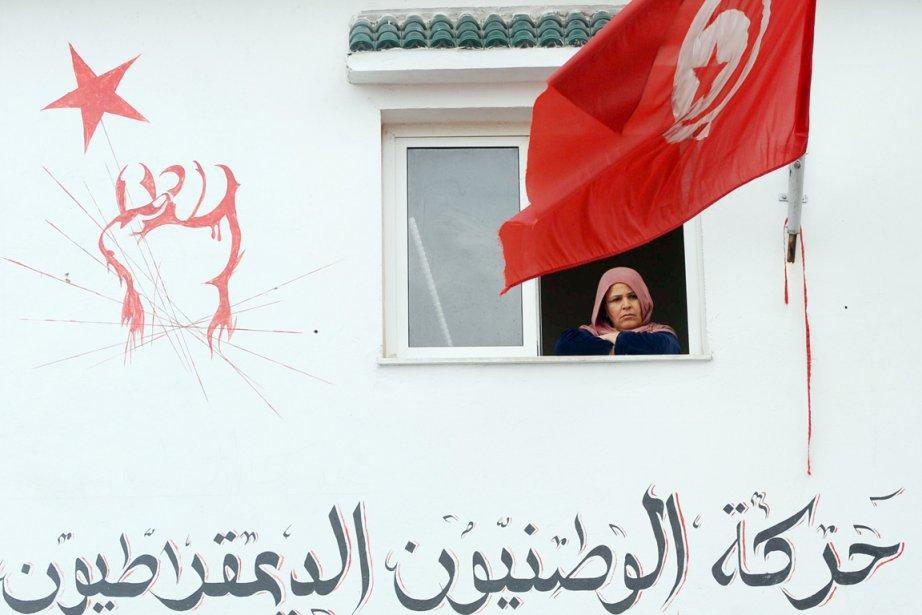 Entré en vigueur en janvier 2011, juste après... (PHOTO FETHI BELAID, ARCHIVES AFP)