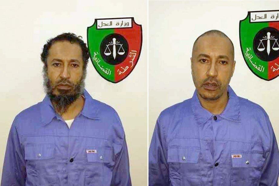 Le gouvernement libyen s'engage à traiter Saadi Kadhafi... (PHOTOS AFP)