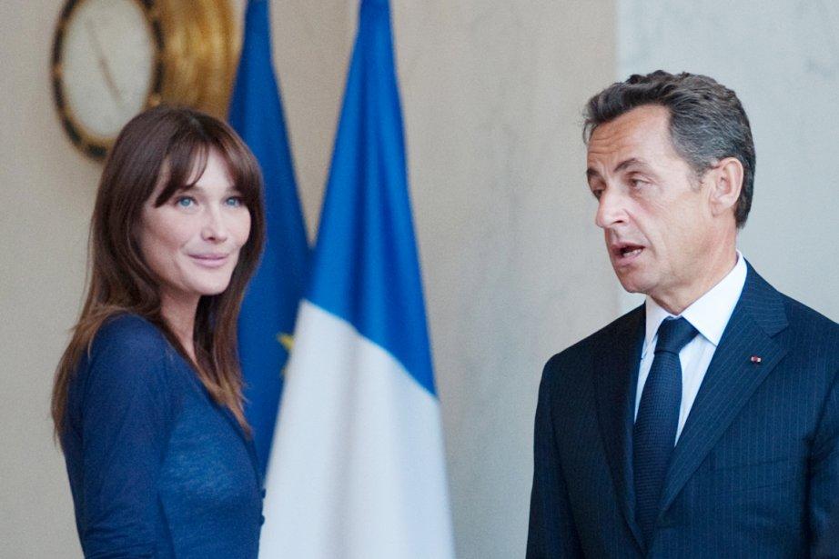 M.Sarkozy et son épouse «ne peuvent en effet... (PHOTO MARTIN BUREAU, ARCHIVES AFP)