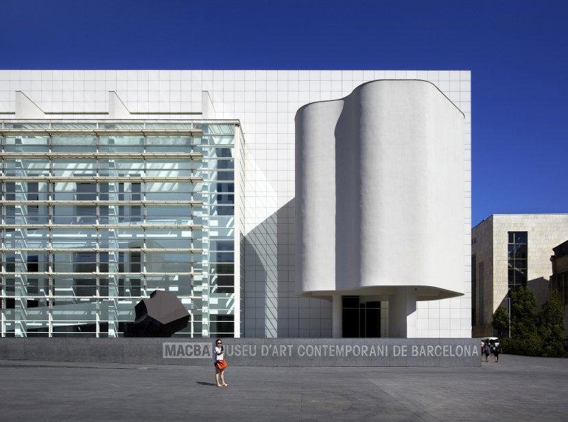 Le Musée d'art contemporain signé Richard Meier: beau de l'intérieur comme de l'extérieur. (Photo Rafael Varga, fournie par le MACBA)