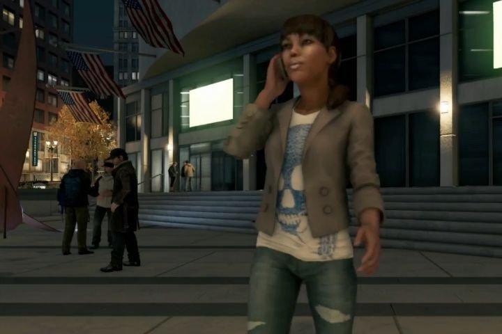 Aisha Tyler dans une bande annonce du jeu... (Photo Ubisoft)