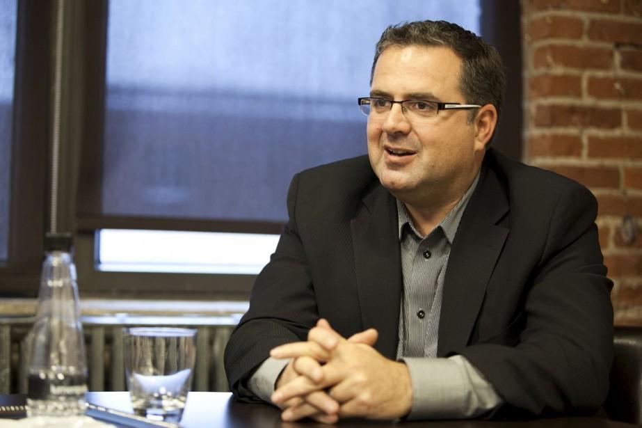 Le fondateur et PDG deLumenpulse, François-Xavier Souvay.... (Photo d'archives Éric Désabrais, collaboration spéciale)