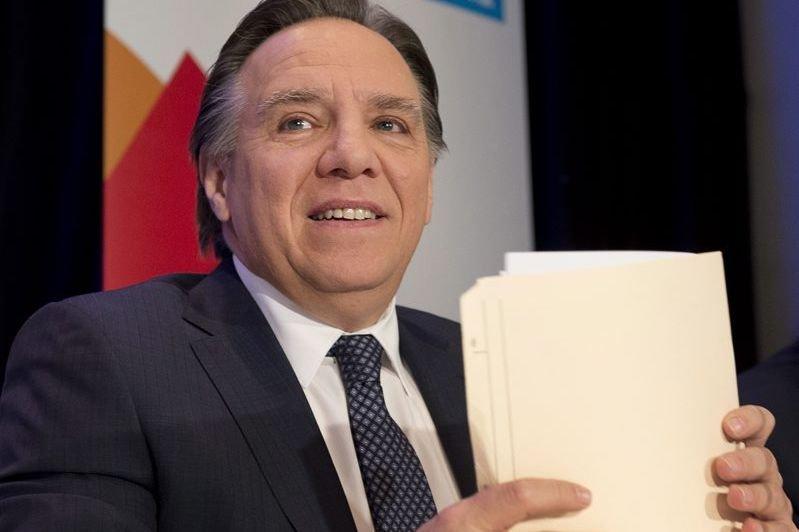 Francois Legault... (Photo Jacques Boissinot, La Presse Canadienne)