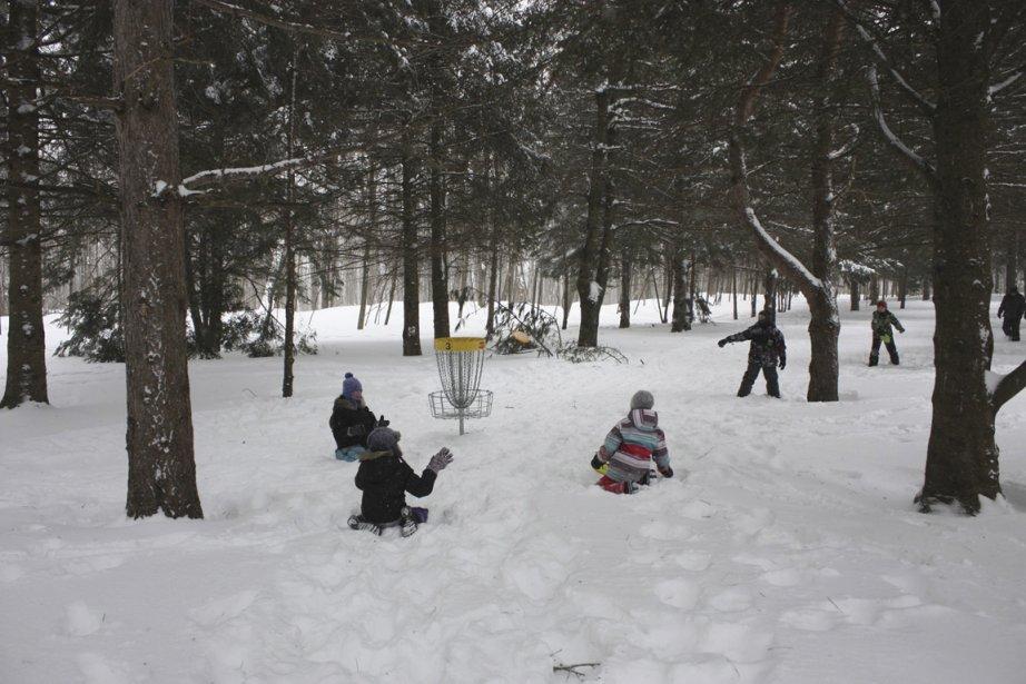 Partie de ski-golf au Bois de Belle-Rivière, à... (Photo fournie par Bois de Belle-Rivière)