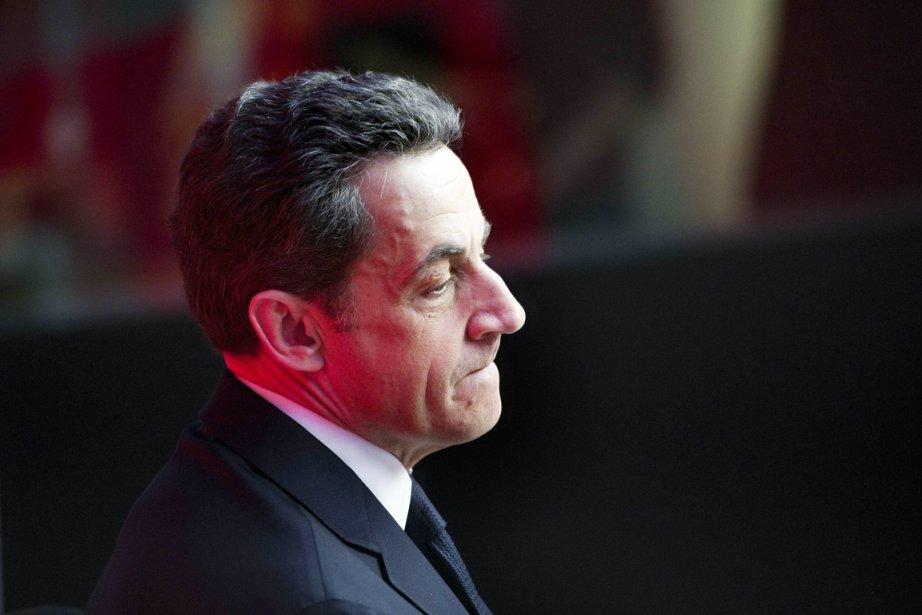 L'AFP rapporte que selon des proches, Nicolas Sarkozy... (PHOTO LIONEL BONAVENTURE, ARCHIVES AFP)