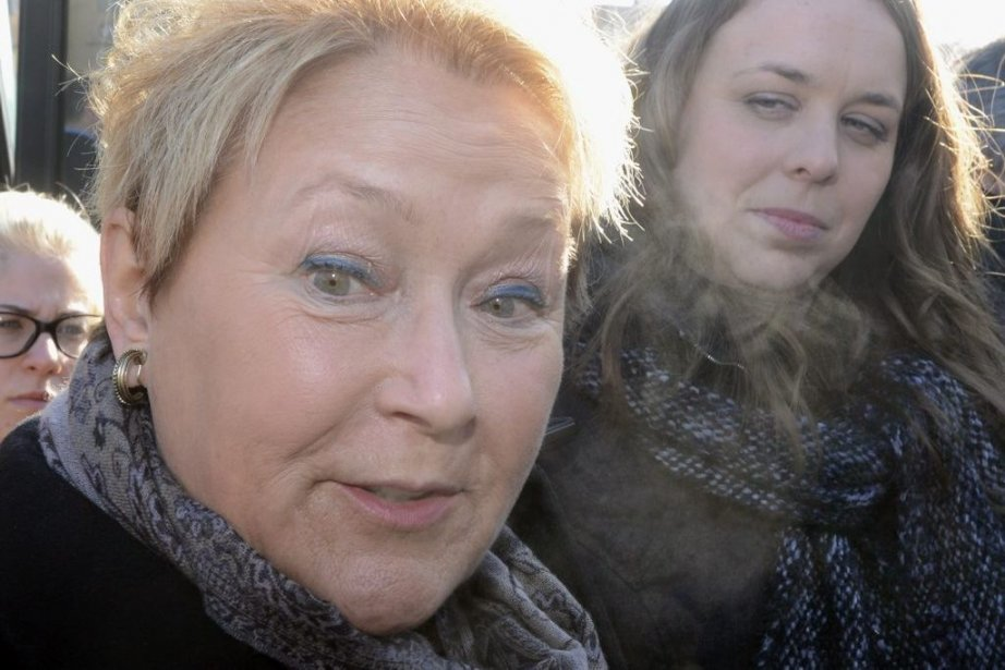 Pauline Marois et Martine Desjardins... (Photo Ryan Remiorz, La Presse Canadienne)
