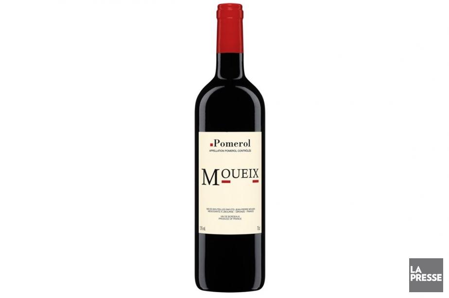 Bordeaux rouge des Établissements Jean-Pierre Moueix,... (Photo La Presse)