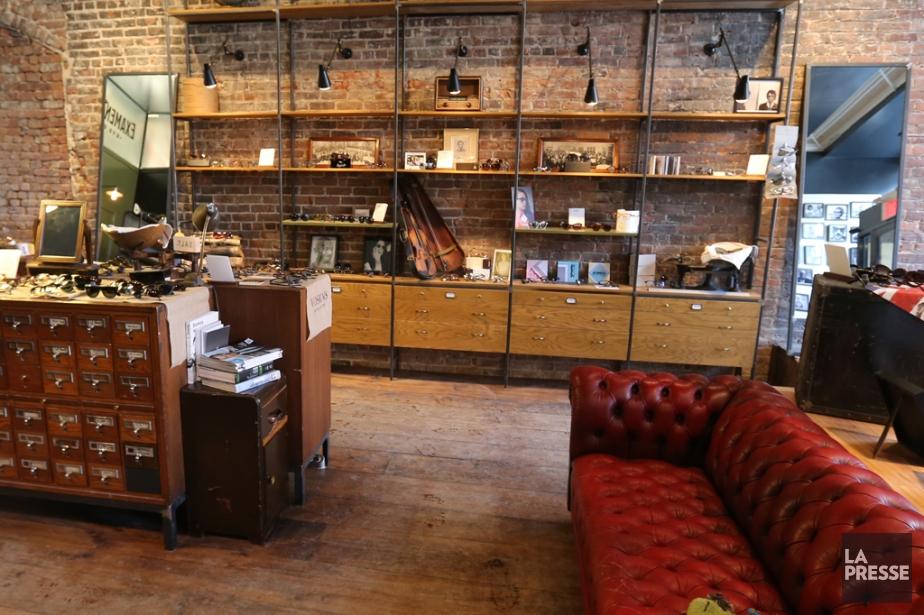 Lunetterie Voskins, toute nouvelle, toute belle, cette boutique... (Photo Martin Chamberland, La Presse)