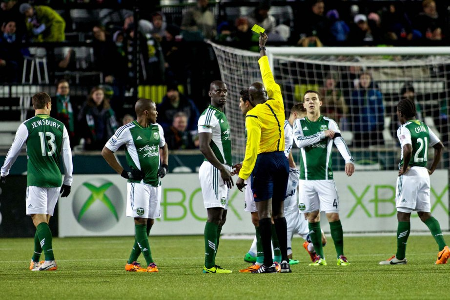 Le lock-out des arbitres de la MLS est... (Photo Craig Mitchelldyer, USA Today)