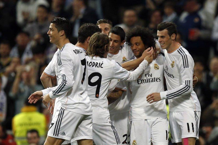 Le Real Madrid détient une avance de 3... (PHOTO SERGIO PEREZ, REUTERS)