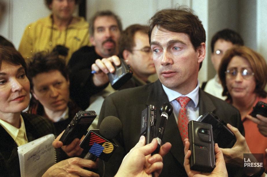 PierreKarlPéladeau en 2000... (PHOTO ARCHIVES LA PRESSE)