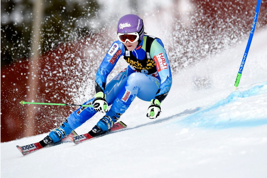 Tina Maze... (Photo Pontus Lundahl, Reuters)