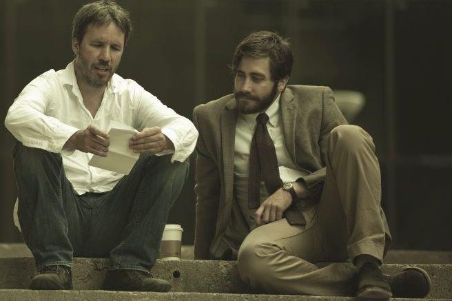 Denis Villeneuve et Jake Gyllenhaal sur le plateau... (Photo fournie par Films Séville)