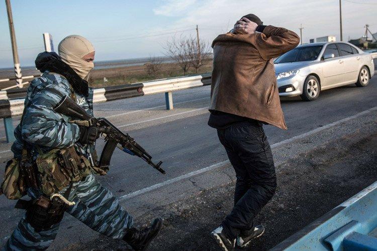 Les forces russes consolident jour après jour leur... (Photo: AFP)