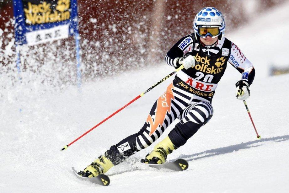 Tanja Poutiainen lors de la coupe du monde... (Photo Reuters)
