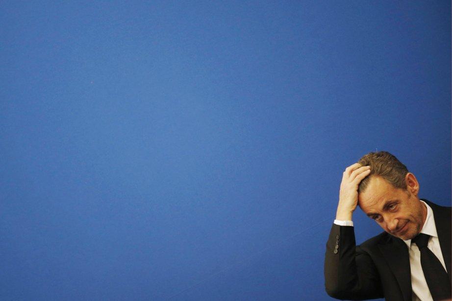 L'ex-président français Nicolas Sarkozy, à Nice, le 10... (PHOTO ÉRIC GAILLARD, REUTERS)
