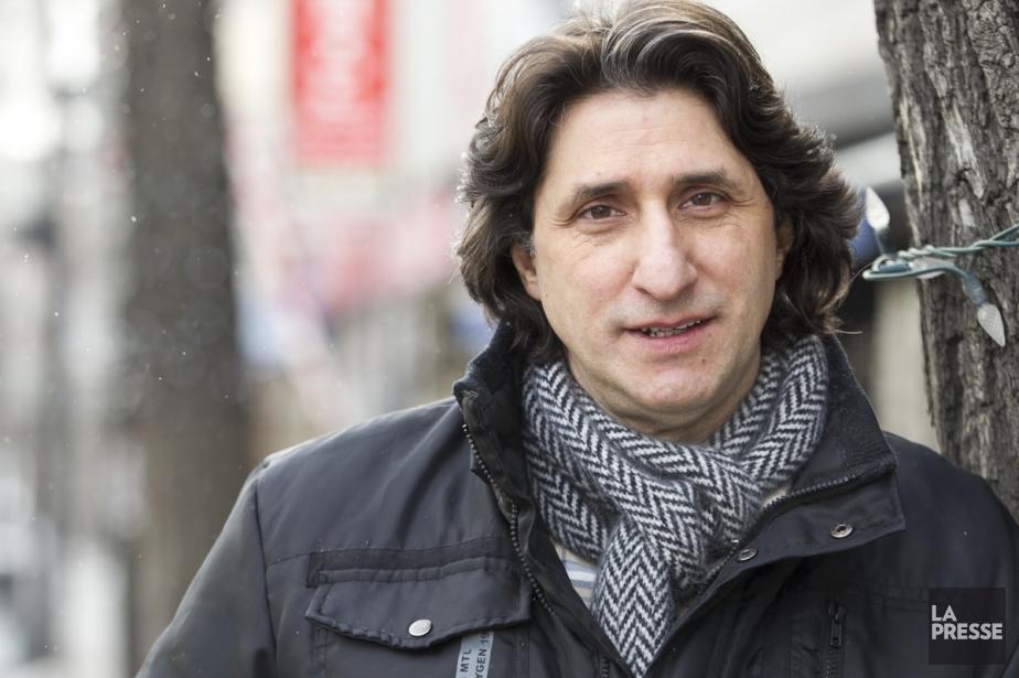 Le 13 décembre dernier, l'acteur... (Photo: Hugo-Sébastien Aubert, La Presse)